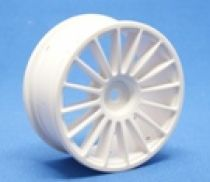 RIDE 16 Spoke Nylon Wheel White