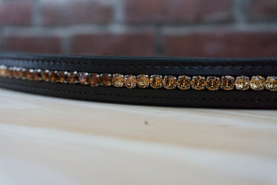 Amber Ombre - Chocolate Full Browband