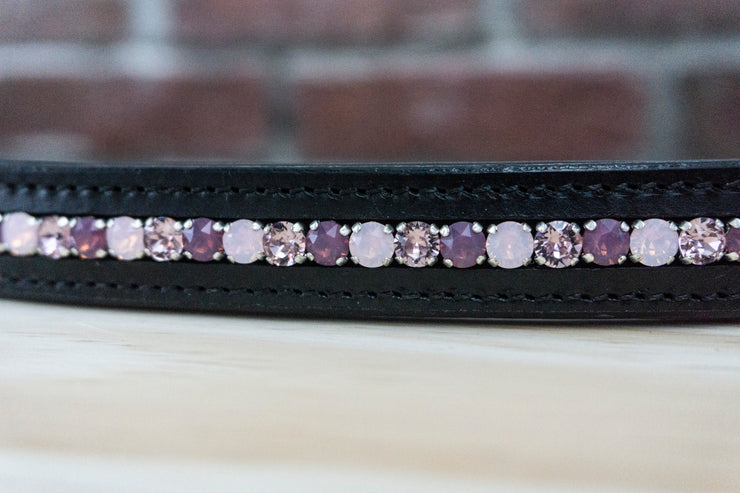 Purple Opal - Black Full Browband