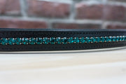Emerald Black Full Browband