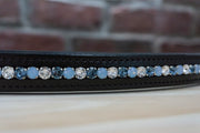 Blue Opal - Chocolate Full Browband
