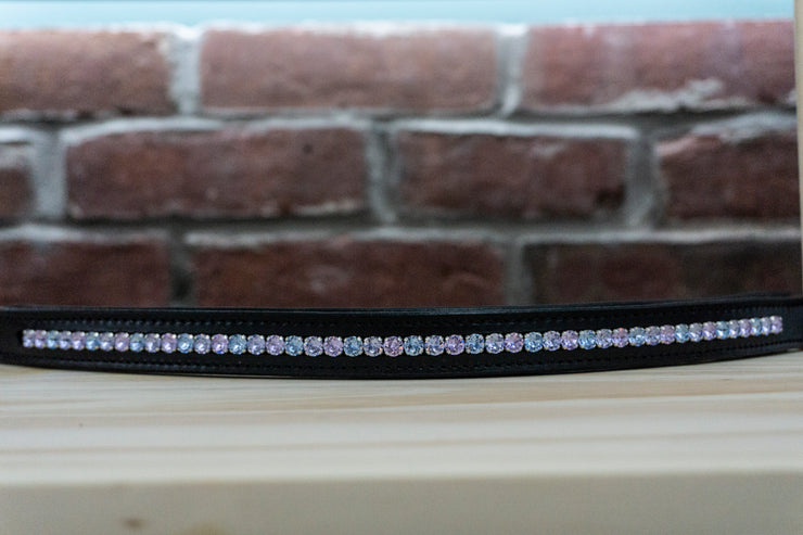 Blue Unicorn - Black Full Browband