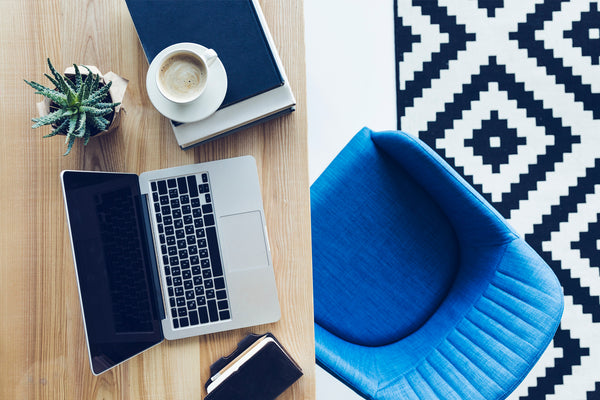 Setting up a designer inspired ergonomic workspace