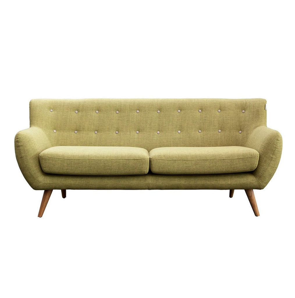 Green 3 Seater Sofa - Workspace Luxe