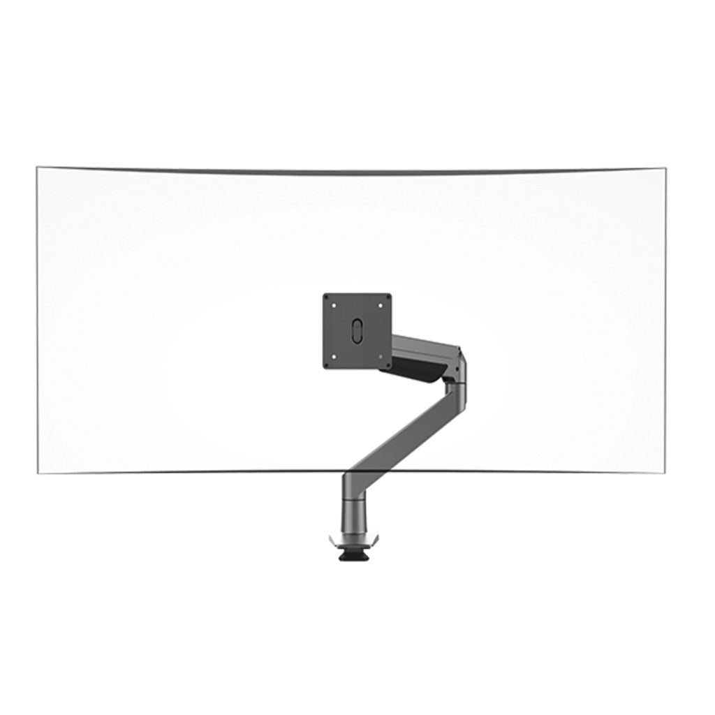 Single Screen Ergo Computer Monitor Arm - Workspace Luxe