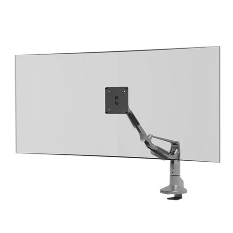 Single Screen Ergo Computer Monitor Arm with Dual USB Port - Workspace Luxe