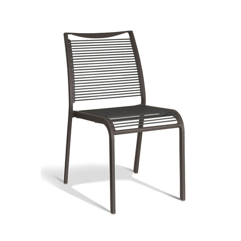 Aluminium Grey Chair (Set of 4) - Workspace Luxe