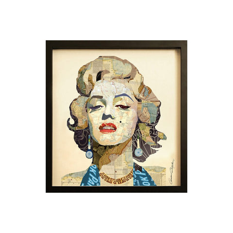 Collage Art Marilyn - Workspace Luxe
