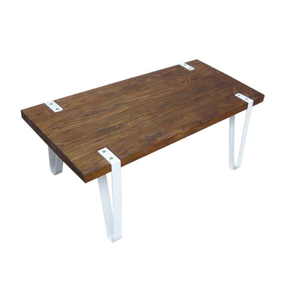 Elm Coffee Table White - Workspace Luxe