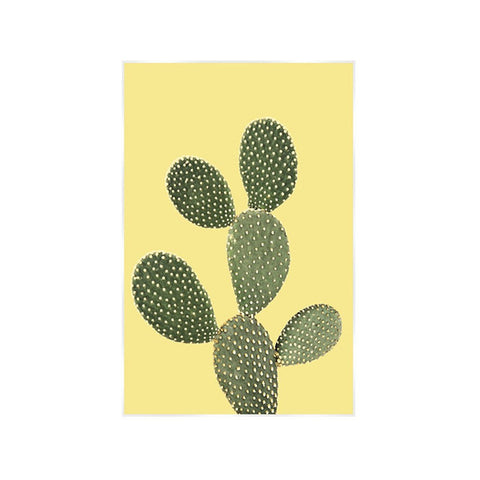 Botanical Prickly Pear Sunshine Art Print - Workspace Luxe