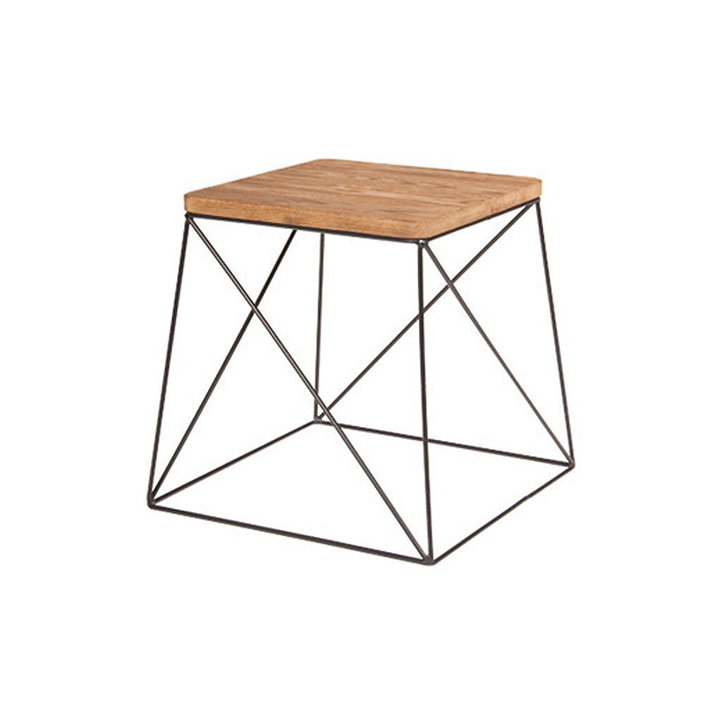 Ironrod Sidetable Elm - Workspace Luxe