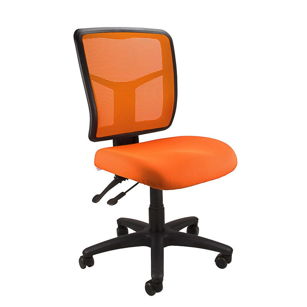 Mesh Kimberly Fully Ergonomic Medium Back Office Chair Without Arms - Workspace Luxe