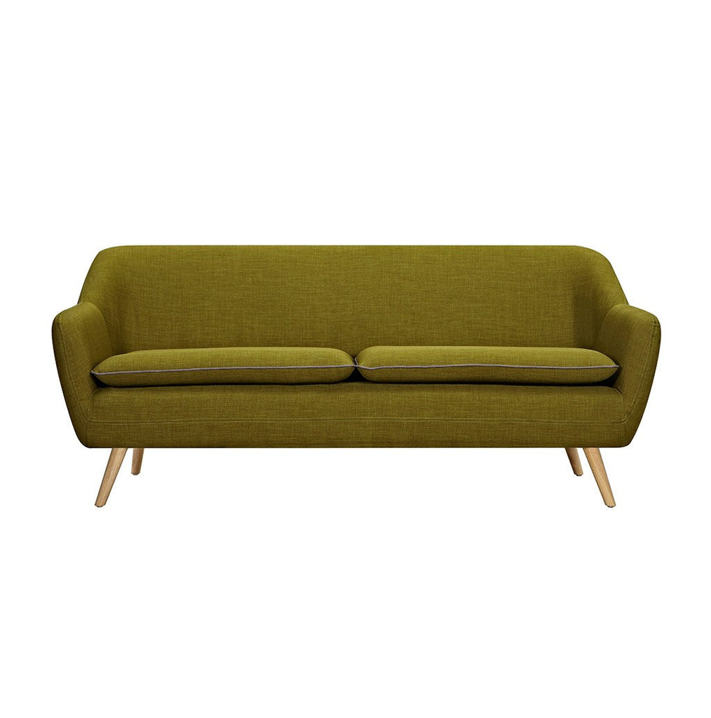 Green Luxe 3 Seater Sofa - Workspace Luxe