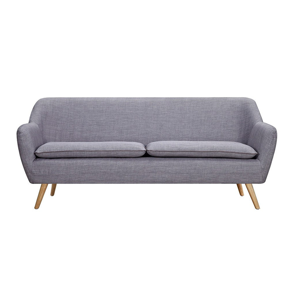 Grey Luxe 3 Seater Sofa - Workspace Luxe