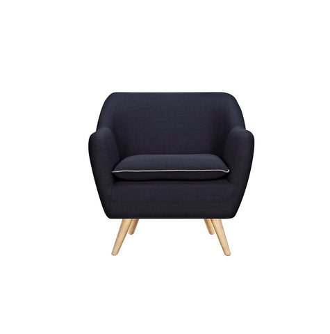 Black Luxe Armchair - Workspace Luxe