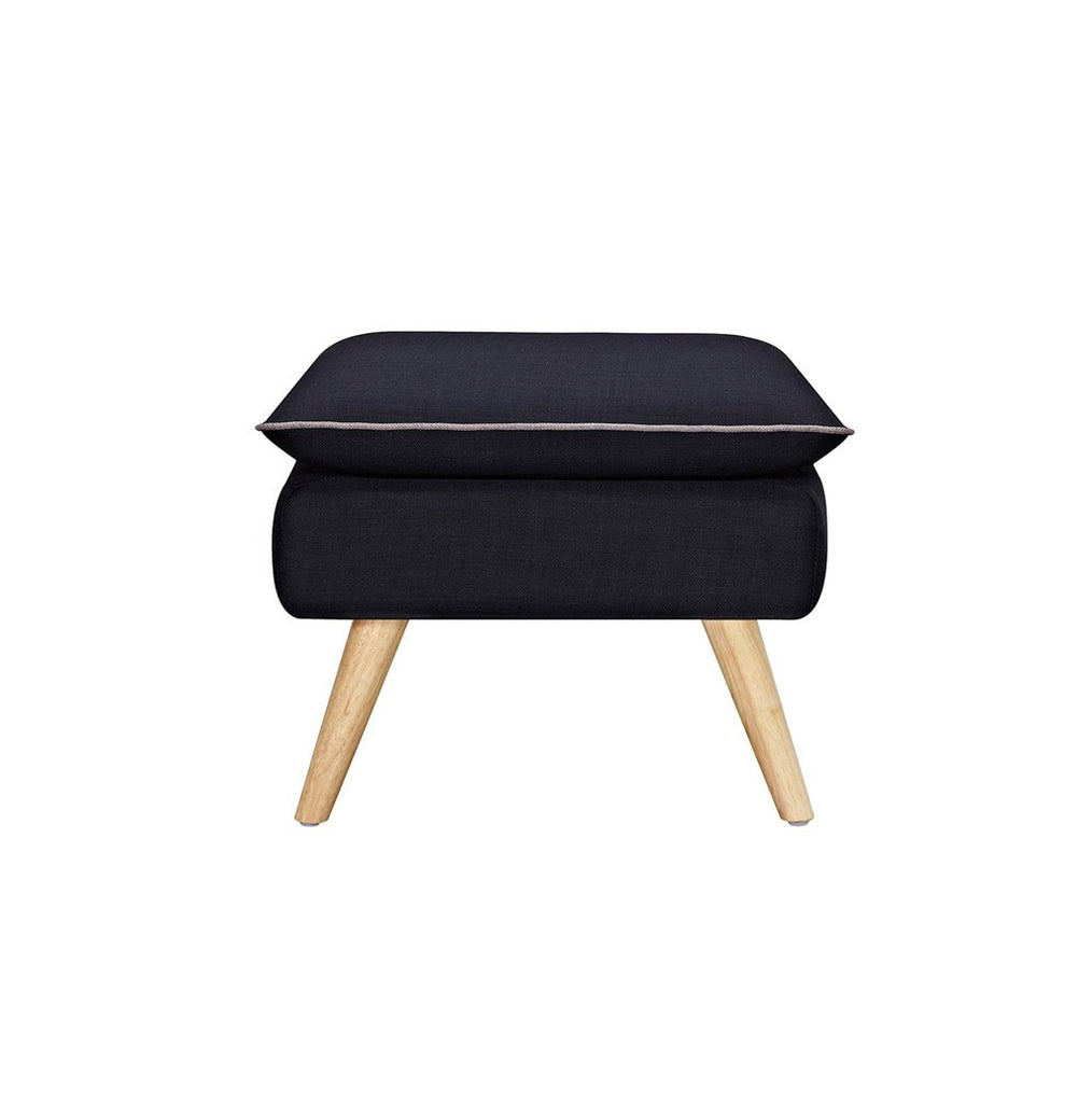 Black Luxe Stool - Workspace Luxe