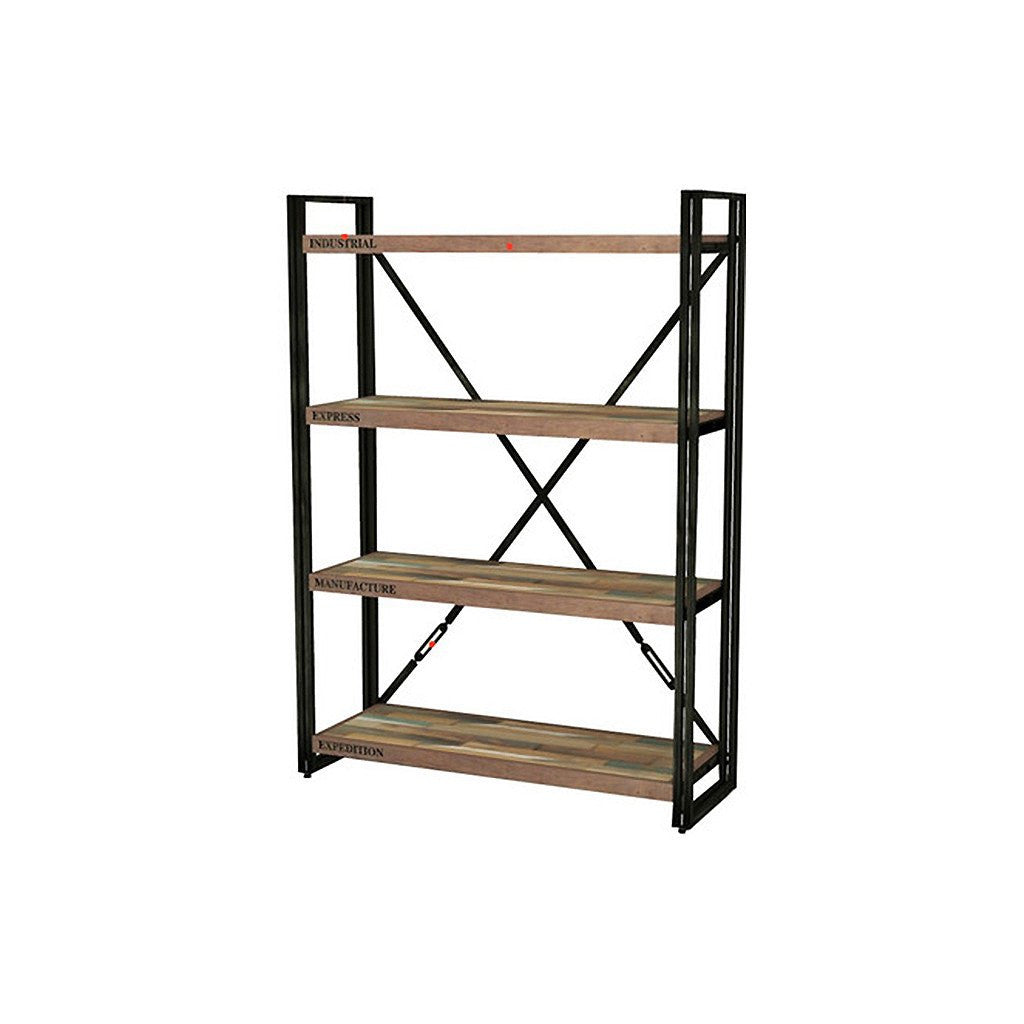 Loft Display Unit with 4 Shelves - Workspace Luxe