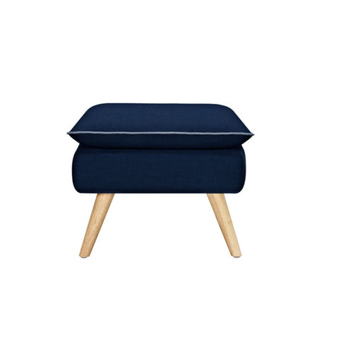 Luxe Stool (Navy Blue) - Workspace Luxe