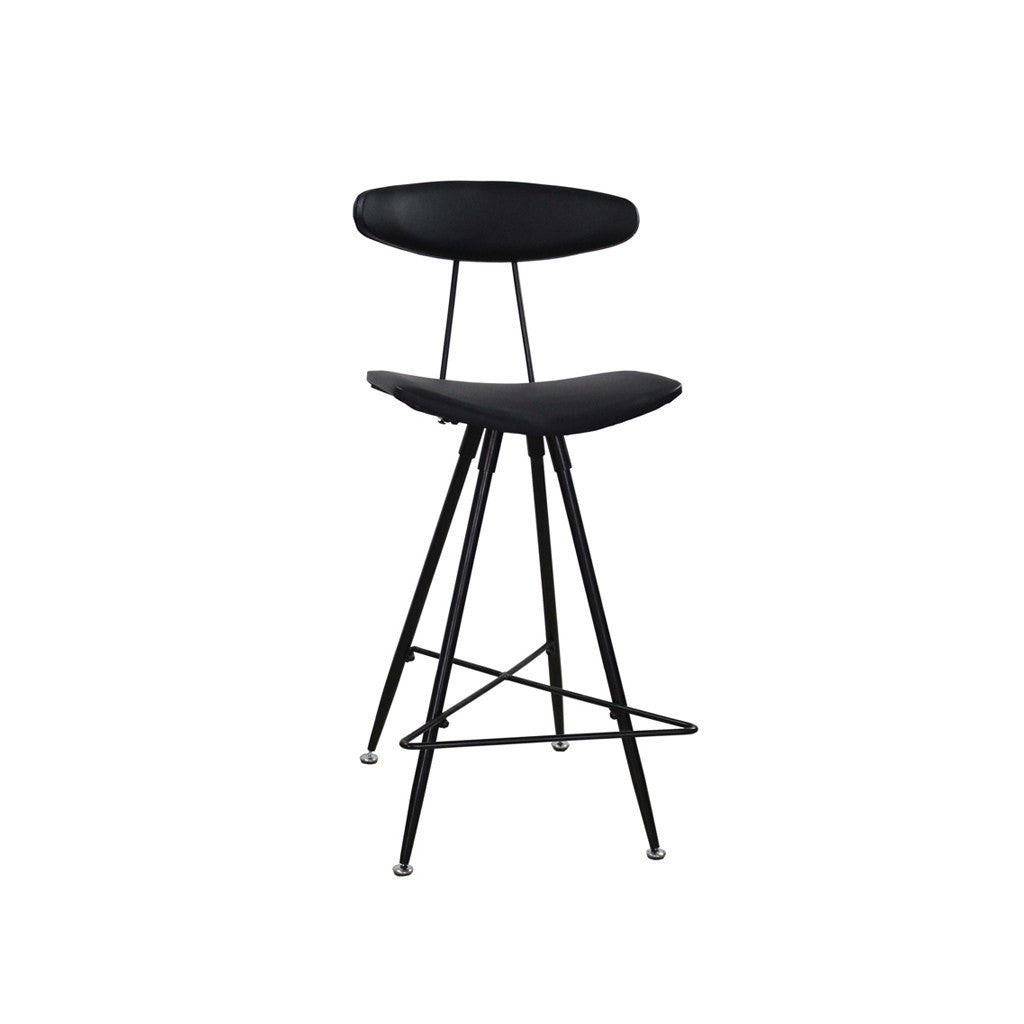 Black Rialto Stool (set of 2) - Workspace Luxe