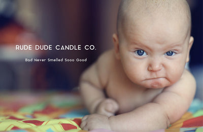 Rude Dude Candles