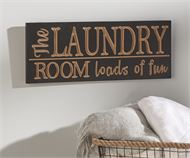 Laundy room sign