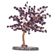 OASIS FENG SHUI AMETHYST CRYSTAL TREE MEDIUM