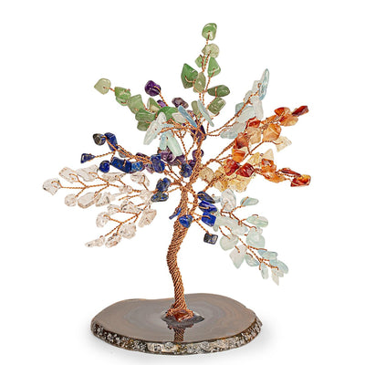 STRENGTH & GROWTH FENG SHUI CHAKRA SYMBOLS TREE SMALL