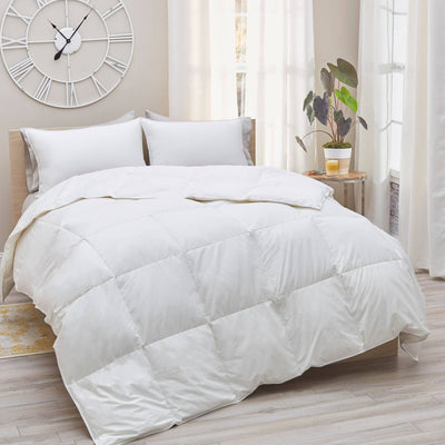King Size - 230TC Down Comforter - All Season Weight