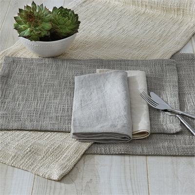 Grey Margo Placemat - Stone