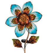 Solar Giant Flower Stake - Blue