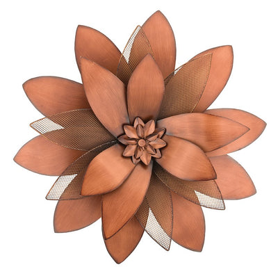 Copper Wall Flower