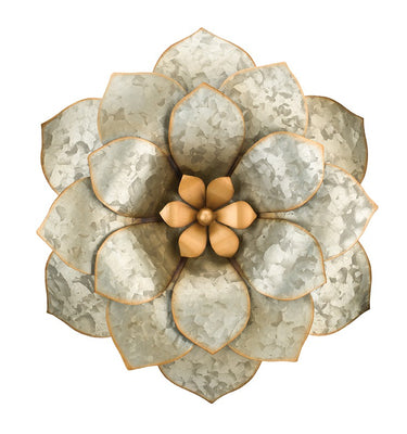 Galvanize Wall Flower