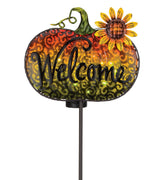 Solar Welcome Stake - Sunflower