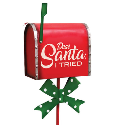 Holiday Stake - Mailbox
