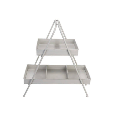 2-tier Metal Display Stand