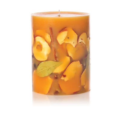 Rosy Rings - Spicy Apple Small Round Botanical Candle