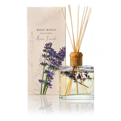 Rosy Rings - Roman Lavender Botanical Reed Diffuser