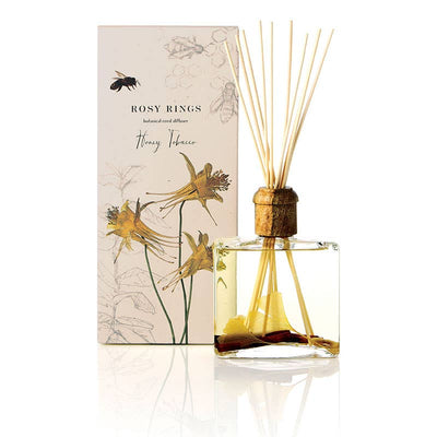 Rosy Rings - Honey Tobacco Botanical Reed Diffuser