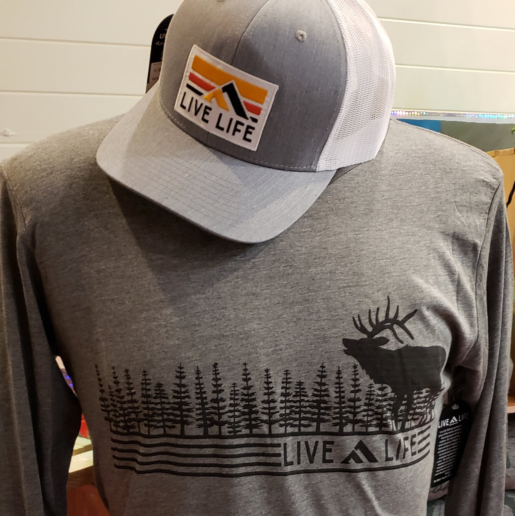 Wapiti (Elk) Live Life Long Sleeve Shirt