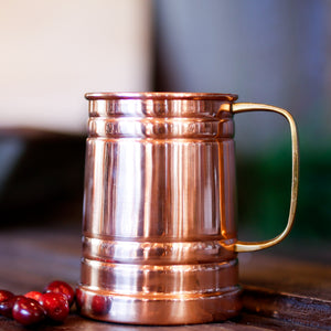 Shiny Copper Tankard