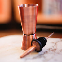 Antique Copper Jigger