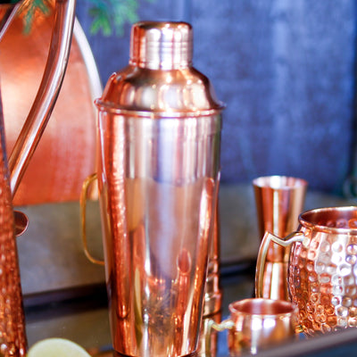 Shiny Copper Shaker -12oz