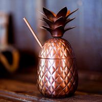 Antique Copper Pineapple 16oz