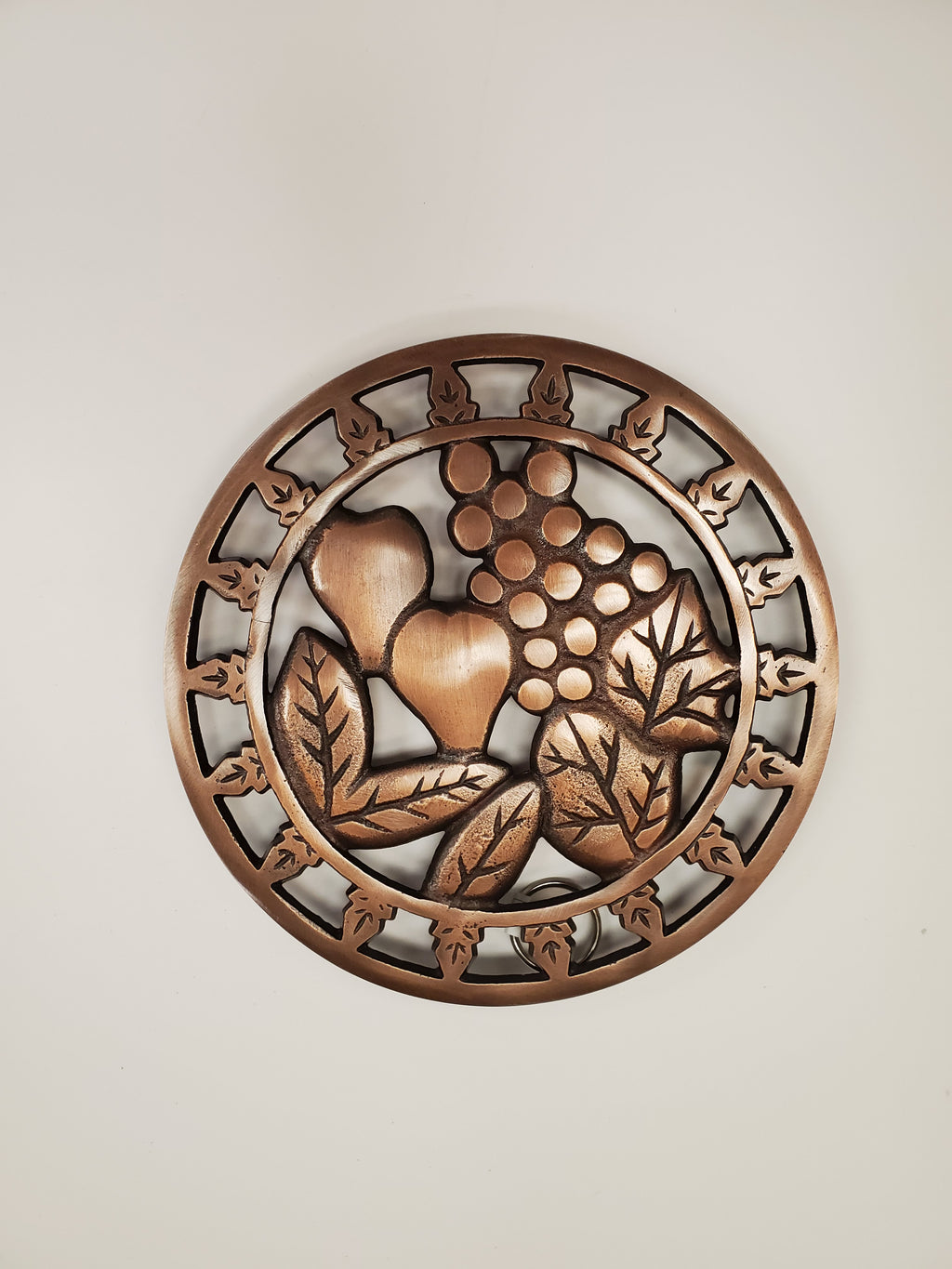 Copper Grape Trivet