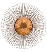 Copper Dandelion Wall Decor 30""
