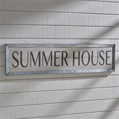 Summer House Sign
