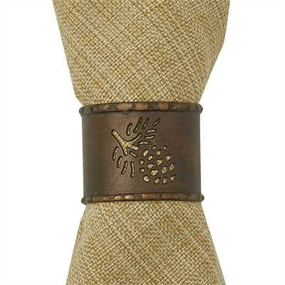 Pinecone Cuff Napkin Ring