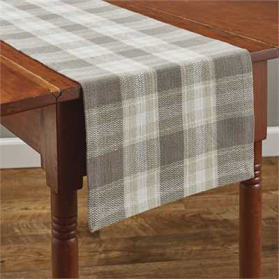 Weathered Oak Table Runner - 72