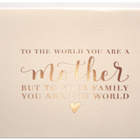 Parrott Design Studio - The World Mother`s Day Card