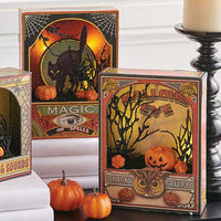 HALLOWEEN LIGHTED SHADOWBOX